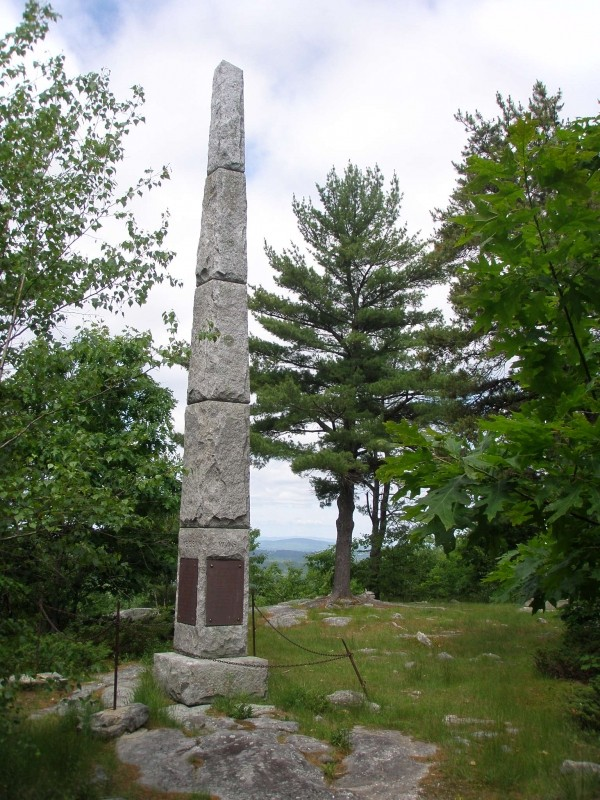 Monument Hill Maine Trail Finder