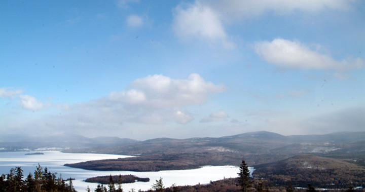 bald mountain trail - oquossoc