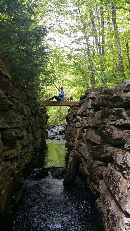 Appalachian Trail - Piazza Rock - Maine Trail Finder