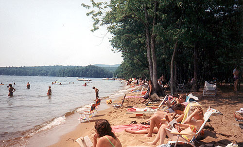 Sebago Lake State Park Day Use Area Maine Trail Finder